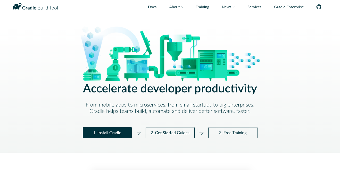 Gradle tools for developer teams