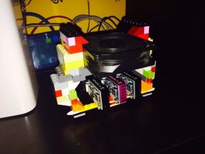 Lego mining system