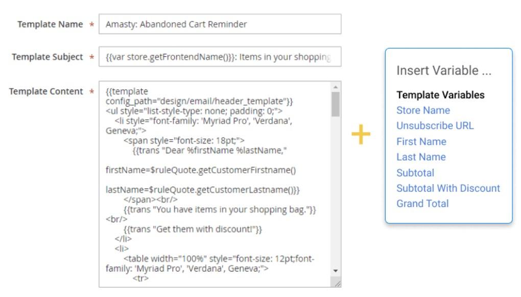 Amasty Abandoned Cart Email Magento 2 Extension; Amasty Abandoned Cart Email Magento Module