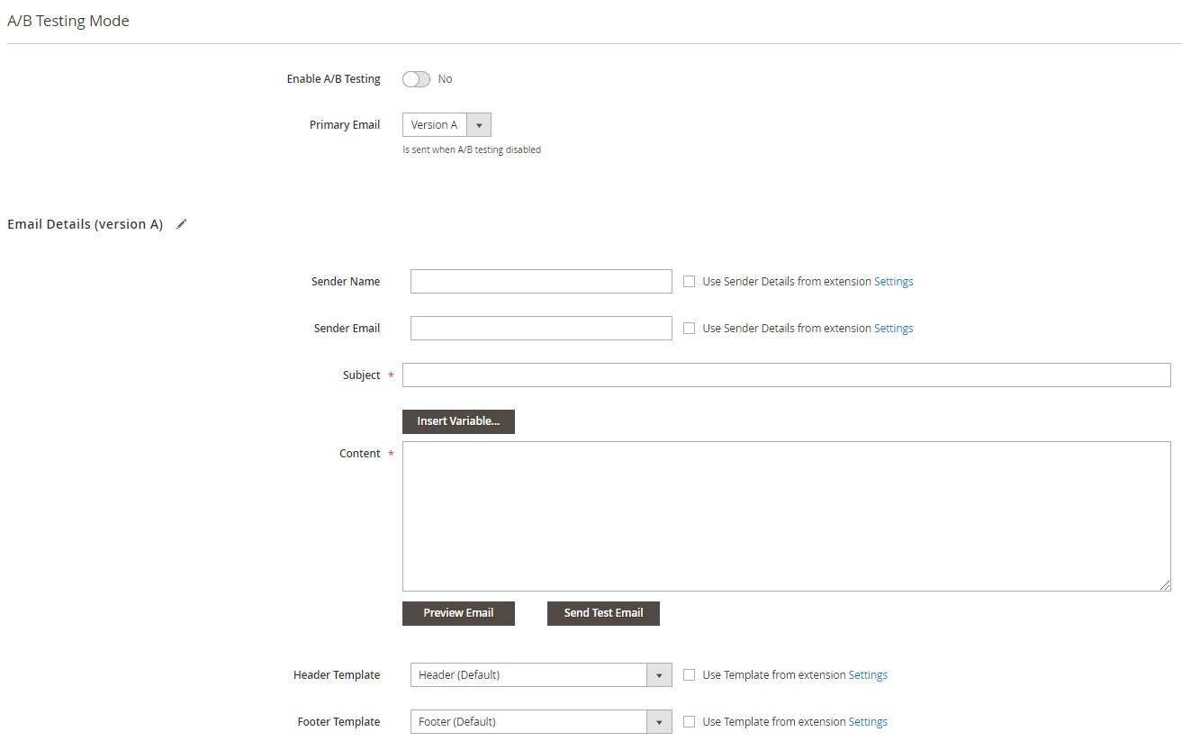 Aheadworks Magento 2 follow up email extension