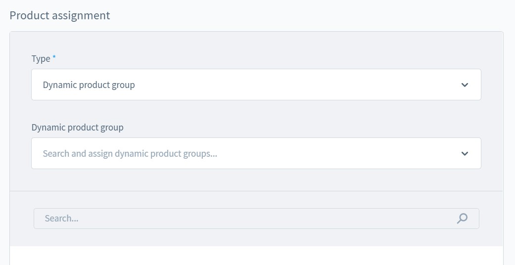 manage and create category in Shopware 6
