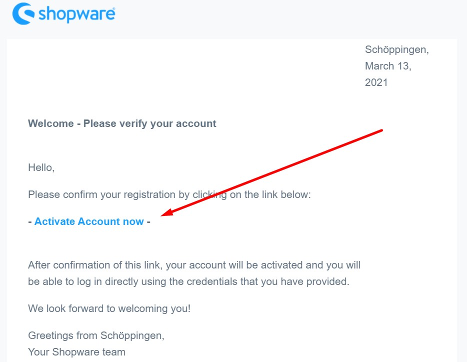 Shopware ID, Shopware Account, Shopware registration, Buy Shopware extensions