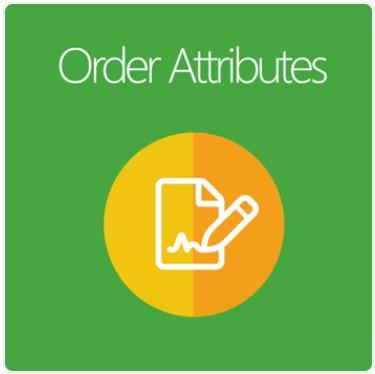 Magento 2 order attributes extension