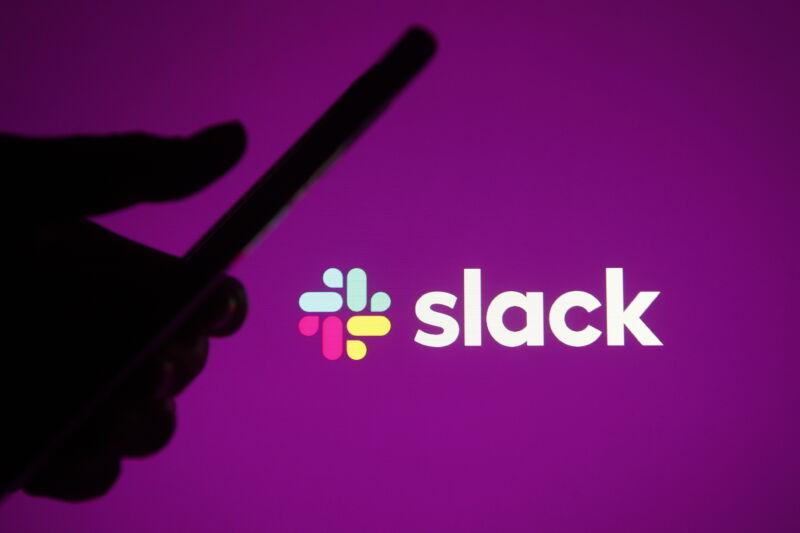 Shadowy Slack usage.