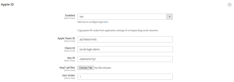 Magento 2 Social Login module