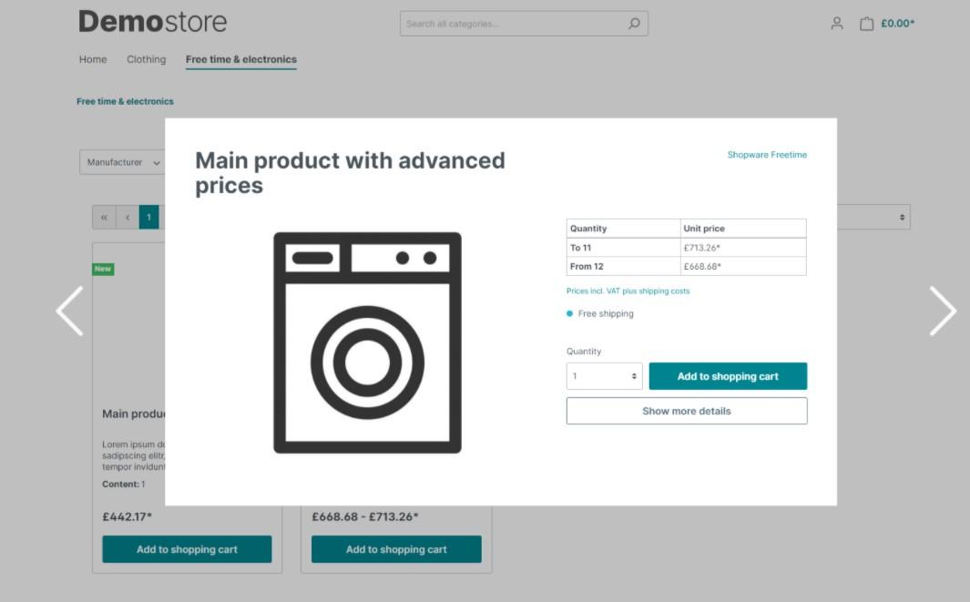 shopware 6 cms extension shopping experiences