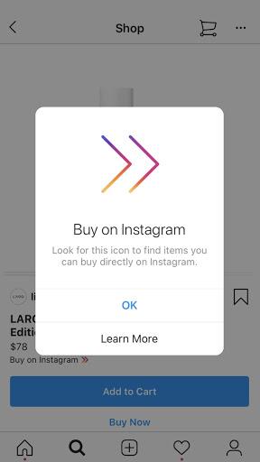 buy on instagram example