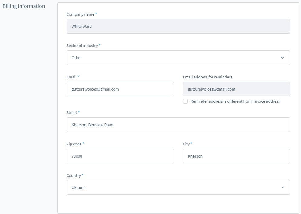 shopware 6 account settings